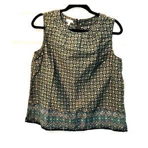 Cute Talbots Work blouse